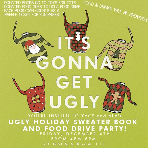 ALA ugly sweater party invite